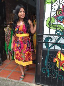 Vestidos hindues en Cali