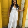 Vestido Hindú Blancos en cali