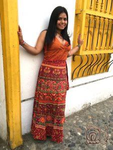 Faldas hindúes de Mándalas en Cali