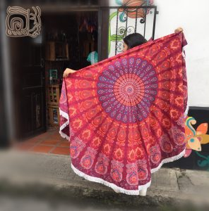 telas mantas mandalas hindues en cali
