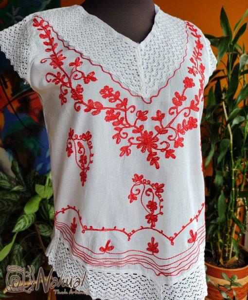 blusa hindú bordada