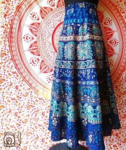 Falda hindu en cali