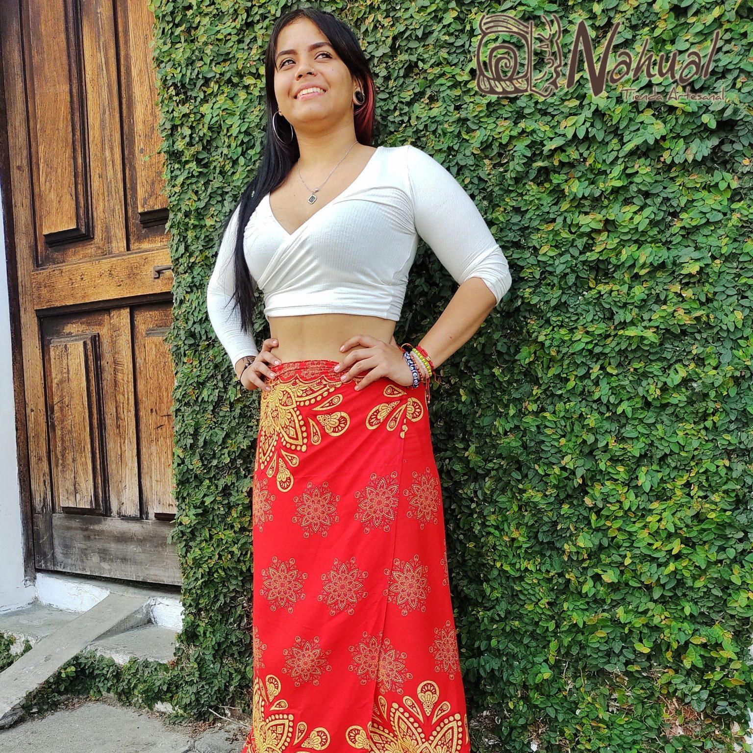 Falda Hindu en Colombia