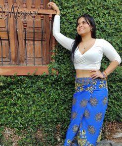 Falda Hindú en Colombia