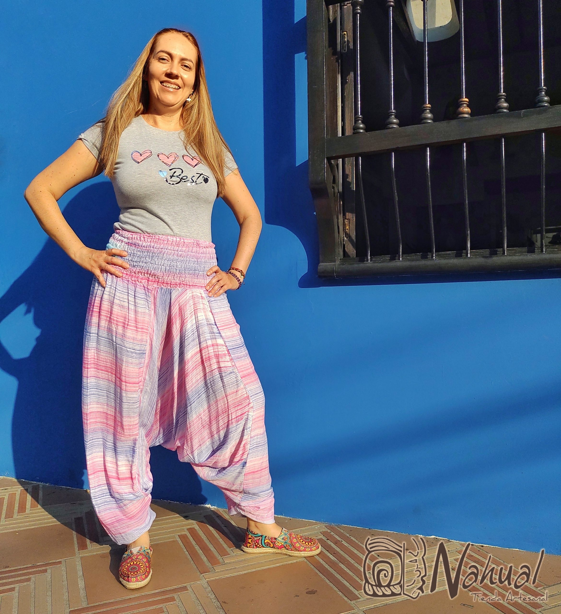 pantalon comodo para yoga