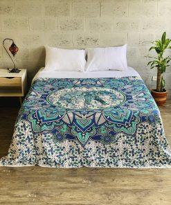 decoracion de camas hindu